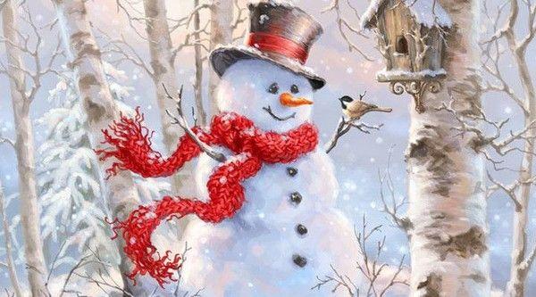 18- Beaux tableaux de Dona Gelsinger pour l hiver