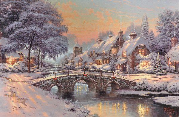 19-Beaux tableaux de Thomas Kinkade