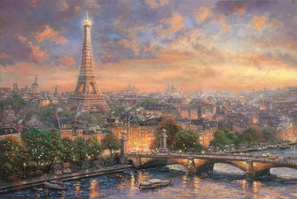 18-Beaux tableaux de Thomas Kinkade